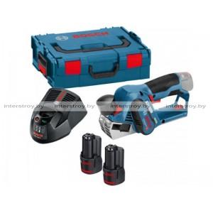 Аккум. рубанок BOSCH GHO 12V-20 L-BOXX (06015A7001)