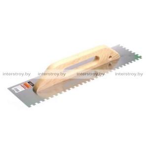 Гладилка нержавеющая Startul Master 480*126 мм зуб 8*8 мм ST1056-08