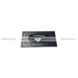 Гладилка пластиковая 140*280 мм с резиновой накладкой PACPL280
