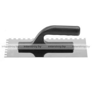 Гладилка нержавеющая Sonsil 270*130 мм зуб 12