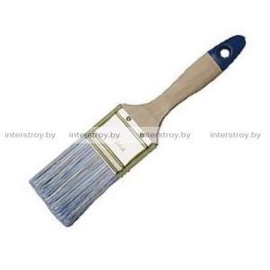 Кисть плоская Bauwelt 38 мм 00303- 125715 Профи синяя