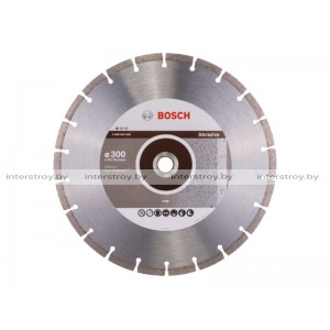 Алмазный круг 300х20/25.4 мм по абразив. матер. сегмент. STANDARD FOR ABRASIVE BOSCH -3165140581264