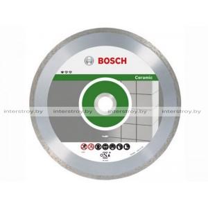 Алмазный круг 125х22 мм по керамике сплошн. STANDARD FOR CERAMIC BOSCH -3165140441308