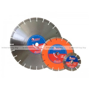 Алмазный круг 400х25.4 мм по асфальту сегмент. ПРОФЕССИОНАЛ -1100004990723