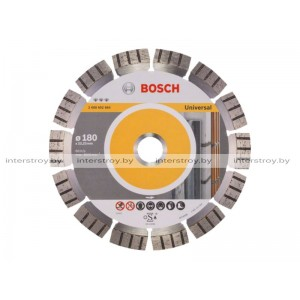 Алмазный круг 180х22 универс. Bosch -3165140183833