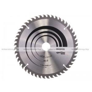 Диск пильный 235х30/25 мм 48 зуб. по дереву OPTILINE WOOD BOSCH -3165140195010