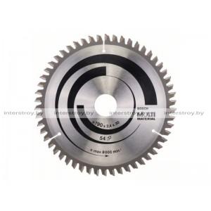 Диск пильный 190х30 мм 54 зуб. универсальный MULTIMATERIAL BOSCH -3165140192996