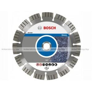 Алмазный круг 115х22 мм по камню сегмент. Turbo BEST FOR STONE BOSCH -3165140581479
