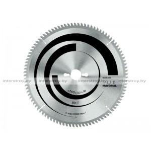 Диск пильный 260х30 мм 80 зуб. универсальный MULTIMATERIAL BOSCH -3165140373869