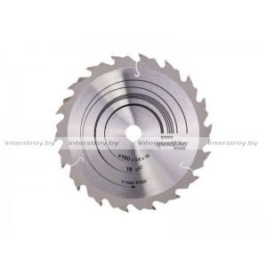 Диск пильный 160х16 мм 18 зуб. по дереву SPEEDLINE WOOD BOSCH -3165140239967