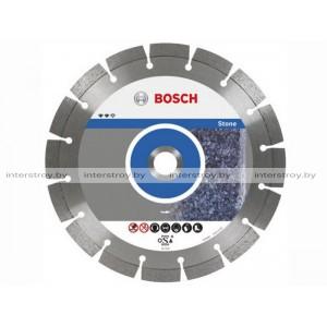 Алмазный круг 125х22 мм по камню сегмент. STANDARD FOR STONE BOSCH -3165140581042