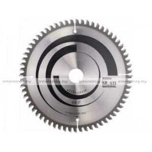 Диск пильный 235х30/25 мм 64 зуб. универсальный MULTIMATERIAL BOSCH -3165140193047