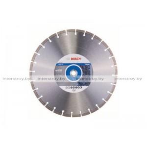 Алмазный круг 400х20/25.4 мм по камню сегмент. STANDARD FOR STONE BOSCH -3165140581103