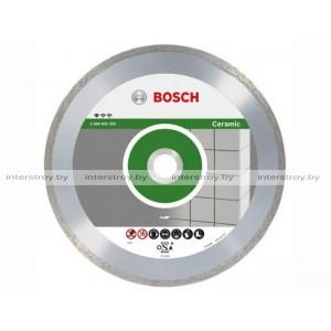 Алмазный круг 115х22 мм по керамике сплошн. STANDARD FOR CERAMIC BOSCH -3165140441292