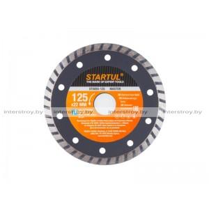 Алмазный круг 125х22 мм универс. Turbo MASTER STARTUL -5293577505510