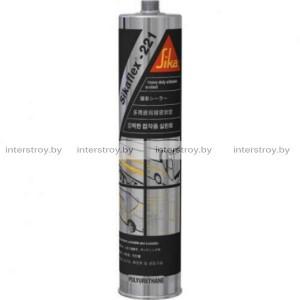 Герметик полиуретановый Sika Sikaflex-221 600 мл черный