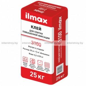 Клей для плитки ilmax 3100 повышенной фиксации 25 кг