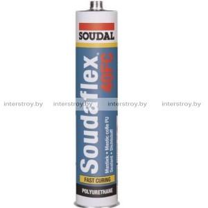 Герметик полиуретановый Soudal Soudaflex 40FC 310 мл серый