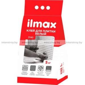 Клей для плитки ilmax 3140 белый 5 кг