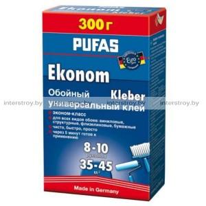 Клей обойный универсальный Pufas EURO 3000 Эконом 300 г