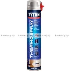 Клей-пена для теплоизоляции Tytan Professional Thermospray 800мл