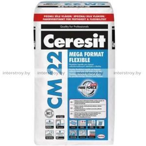 Клей для плитки Ceresit Mega Format Flexible СМ 22 25 кг