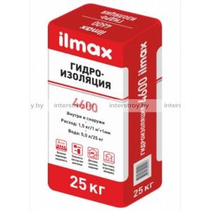 Гидроизоляционный состав ilmax 4600 aqua-stop 25 кг