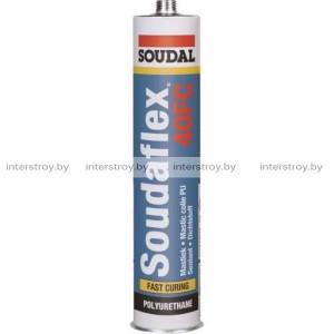 Герметик полиуретановый Soudal Soudaflex 40FC 310 мл черный