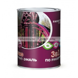 Грунт-эмаль Olecolor 0.9 кг Серый