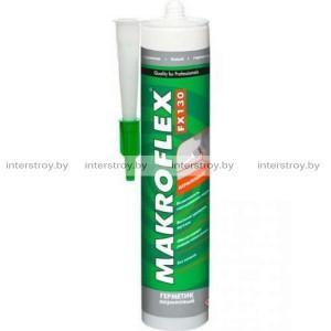 Герметик акриловый Makroflex FX 130 280 мл белый