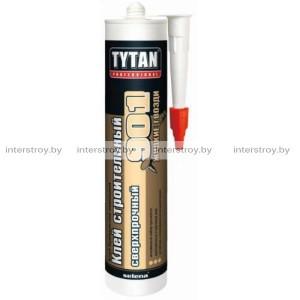 Клей Tytan Professional №901 строительный сверхпрочный 390 г бежевый