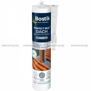 Герметик Bostik Perfect Seal Кровля и Балкон гибридная 290 мл серый
