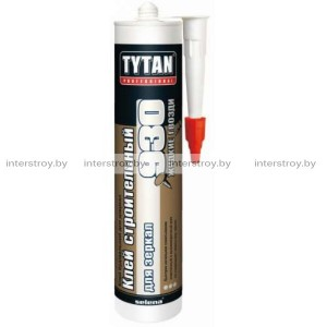 Клей Tytan Professional №930 строительный для зеркал 380 г бежевый