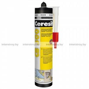 Клей Ceresit CB300 FlexTec монтажный 300 г прозрачный