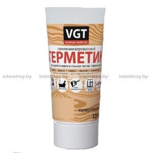 Герметик акриловый VGT 0.16 кг махагон