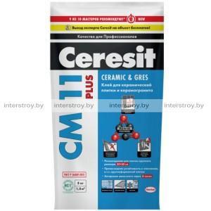 Клей для плитки Ceresit СМ 11 Plus 5 кг