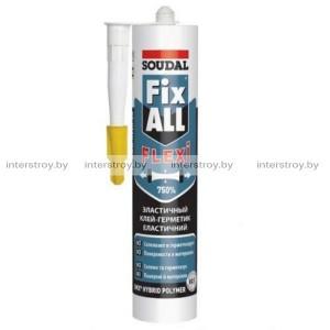 Клей-герметик Soudal Fix All Flexi гибридный 290 мл белый