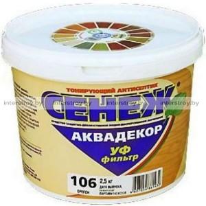Антисептик Сенеж Аквадекор Х2-119 0.9 кг Палисандр