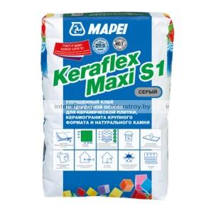 Клей для плитки Mapei Keraflex maxy S1 Grey 25 кг