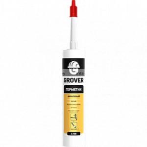 Герметик акриловый Grover A 100 300 мл белый