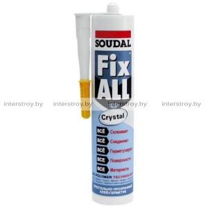 Клей-герметик Soudal Fix All Crystal гибридный 290 мл прозрачный