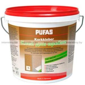 Клей Pufas для пробки 1 кг коричневый