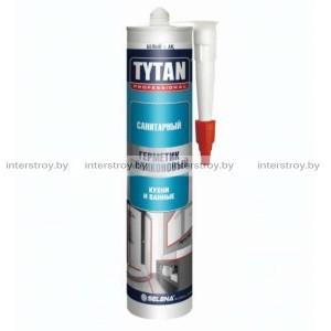 Герметик силиконовый Tytan Professional санитарный 310 мл белый