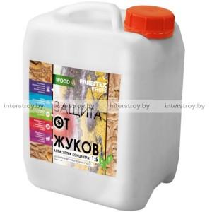 Антисептик Защита от жуков Farbitex ProfiI Wood 10 л концентрат 1:5